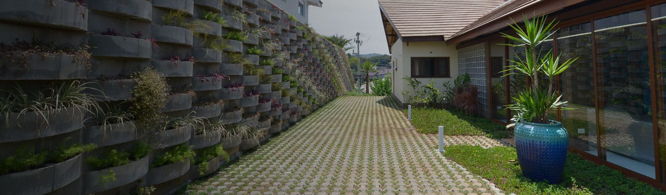 Imagem de casa com Jardim Vertical