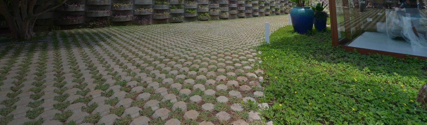 Pisograma o piso da Quitaúna ecologicamente correto